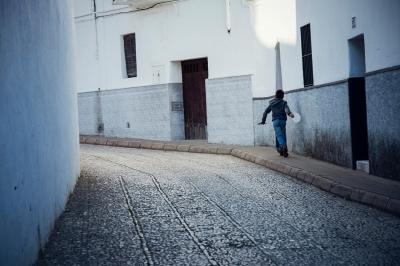 corriendo, Andalucía, novembre 2015