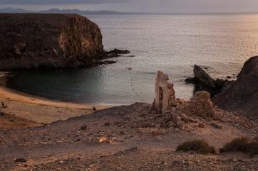 atardecer, Lanzarote, estate 2013