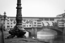 Nebbia su Ponte Vecchio, dicembre 2015