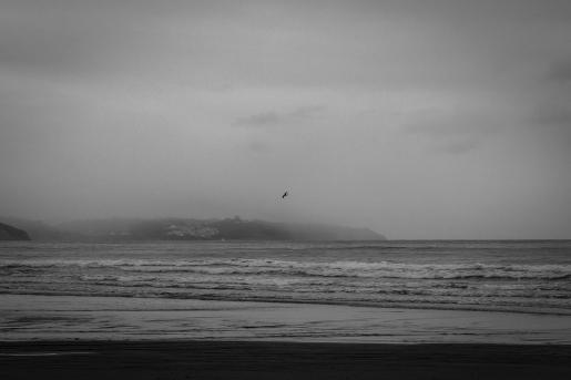 soledad, Playa de Vega, Asturias, luglio 2015